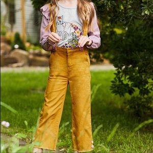 Girl's Matilda Jane suspenders pants